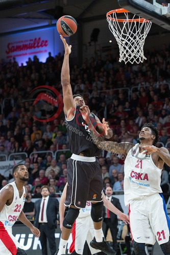 BBL - Euroleague - 17/18 - Brose Bamberg vs. CSKA Moskau